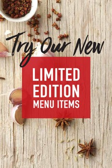 Limited Edition Menu Items