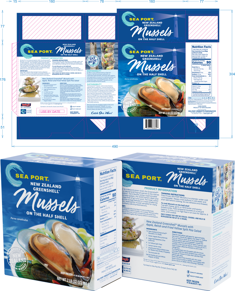 Mussels package composite